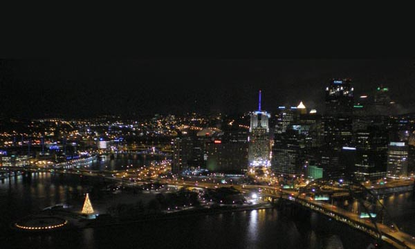 photo of Pittsburgh at Night
