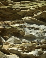 photo of layers of limestone and sandstone
