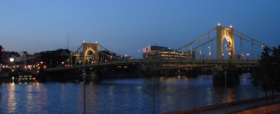 roberto clemente bridge, pittsburgh