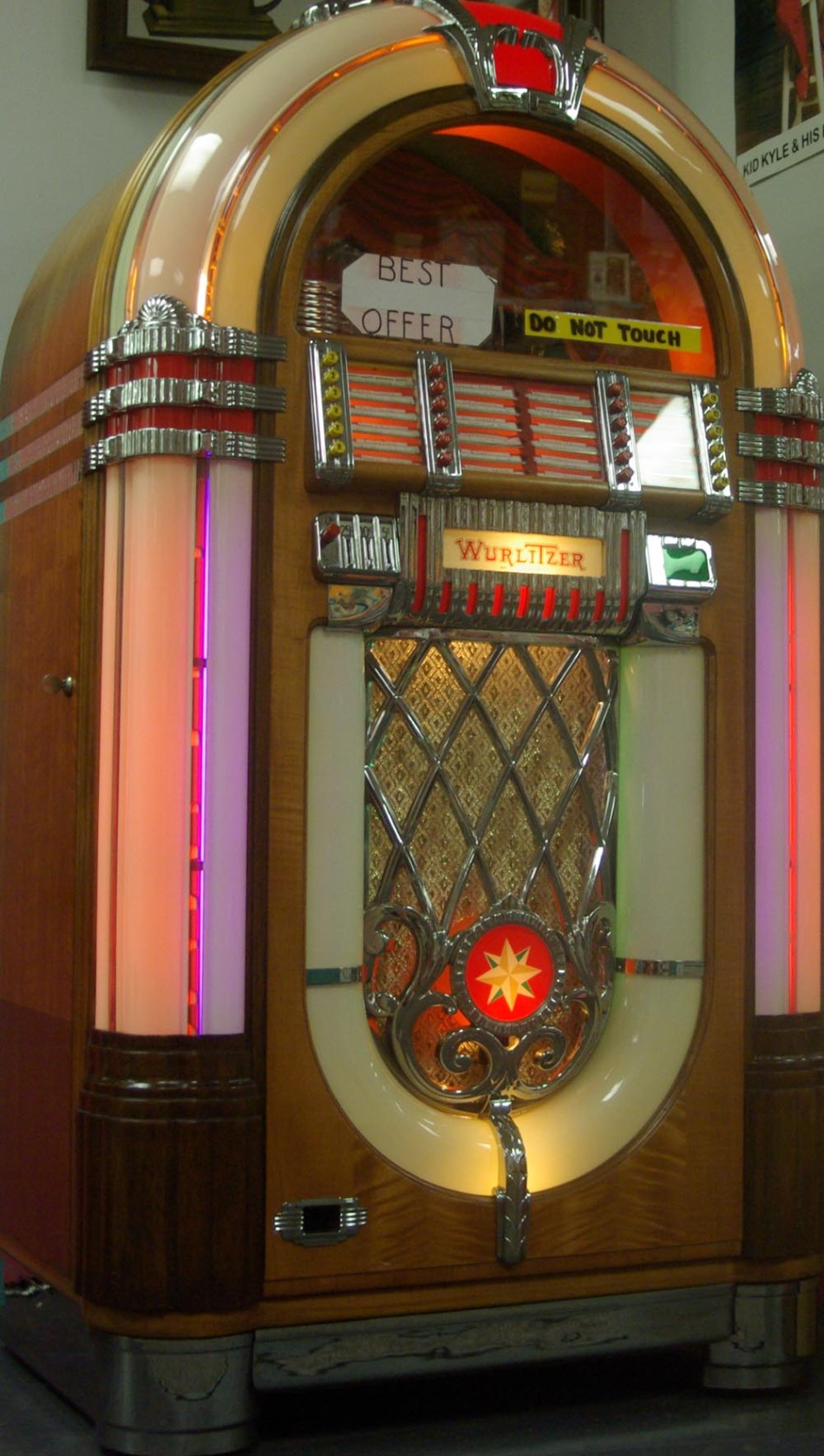 photo of jukebox