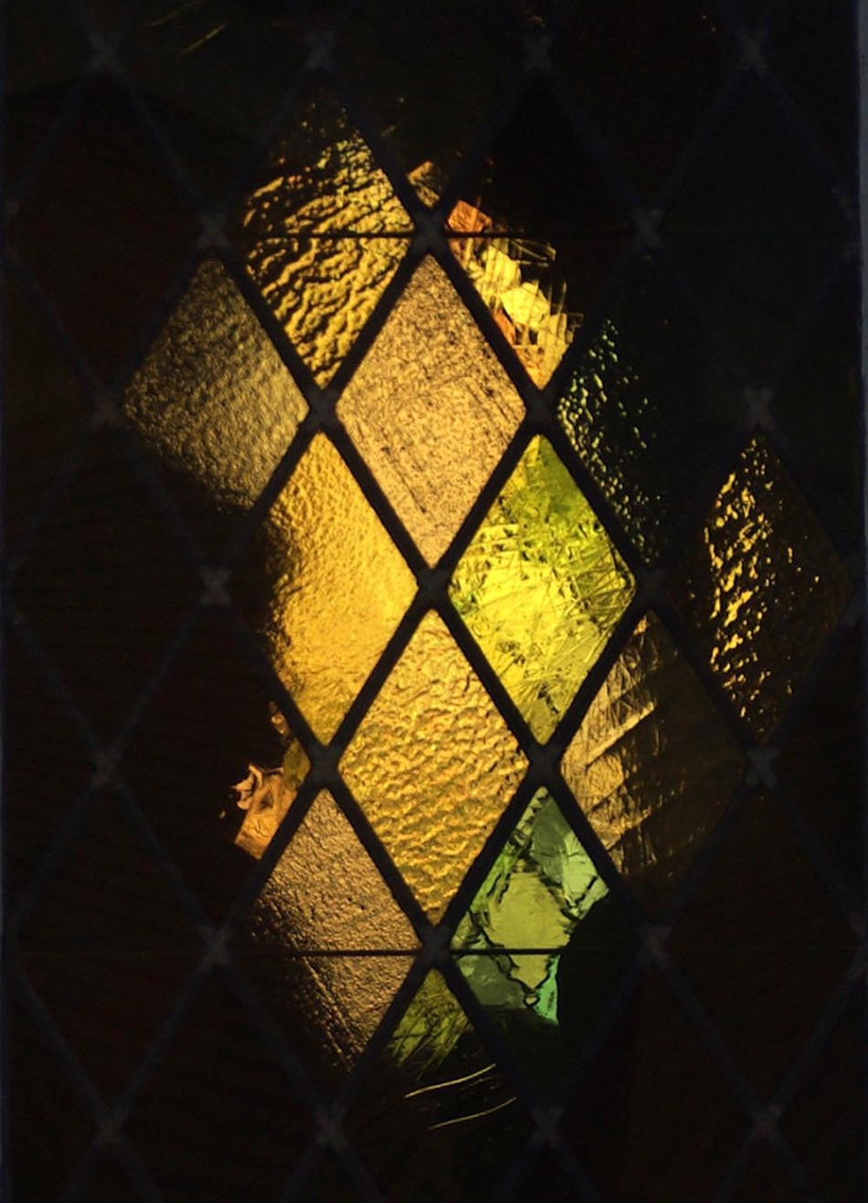 photo of church window